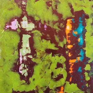 Karen Holloway Batik Abstract 1